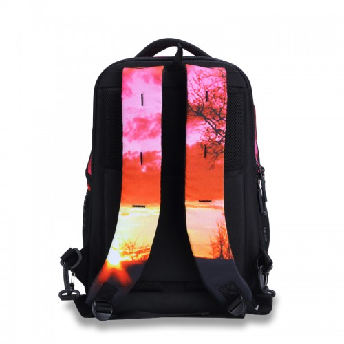 Sunset glow the classic backpack style